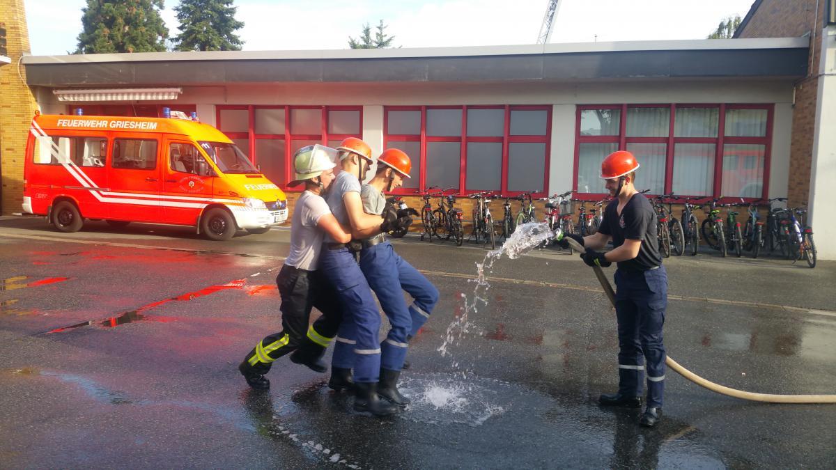 Griesheim Feuerwehreinsatz